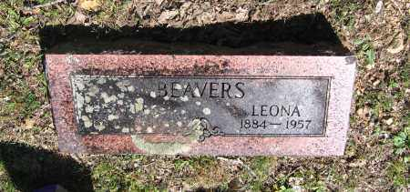 BEAVERS, LAVENA LEONA - Lawrence County, Arkansas | LAVENA LEONA BEAVERS - Arkansas Gravestone Photos