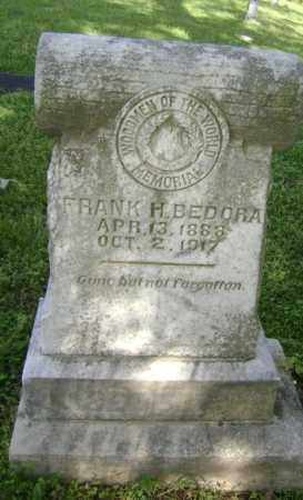 BEDORA, FRANK H,. - Lawrence County, Arkansas | FRANK H,. BEDORA - Arkansas Gravestone Photos