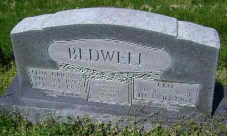 BEDWELL, LEO - Lawrence County, Arkansas | LEO BEDWELL - Arkansas Gravestone Photos