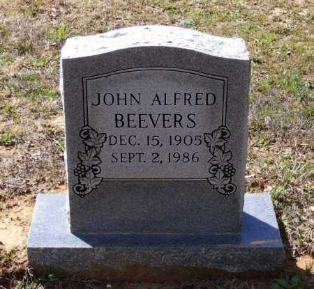 BEEVERS, JOHN ALFRED - Lawrence County, Arkansas | JOHN ALFRED BEEVERS - Arkansas Gravestone Photos