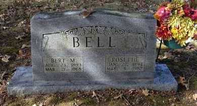 BELL, BERT MANFERN - Lawrence County, Arkansas | BERT MANFERN BELL - Arkansas Gravestone Photos
