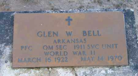 BELL (VETERAN WWII), GLEN WILLIAM - Lawrence County, Arkansas | GLEN WILLIAM BELL (VETERAN WWII) - Arkansas Gravestone Photos
