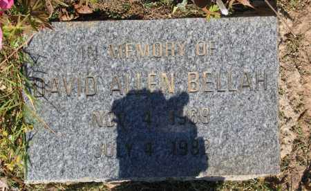 BELLAH, DAVID ALLEN - Lawrence County, Arkansas | DAVID ALLEN BELLAH - Arkansas Gravestone Photos
