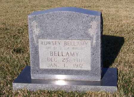 BELLAMY, ROWSEY - Lawrence County, Arkansas   ROWSEY BELLAMY - Arkansas Gravestone Photos