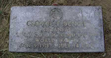 BENCH  (VETERAN WWII), CLOYCE F. - Lawrence County, Arkansas | CLOYCE F. BENCH  (VETERAN WWII) - Arkansas Gravestone Photos