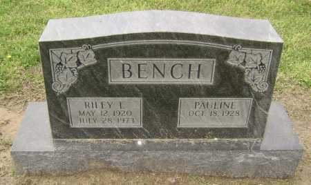 BENCH, RILEY LEE - Lawrence County, Arkansas | RILEY LEE BENCH - Arkansas Gravestone Photos