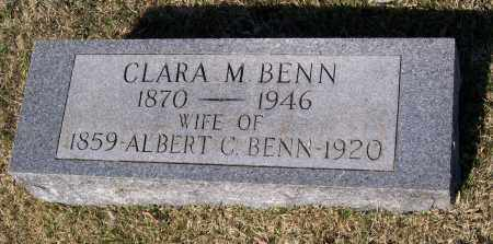 BENN, CLARA MALVERN - Lawrence County, Arkansas | CLARA MALVERN BENN - Arkansas Gravestone Photos