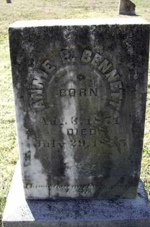 BENNETT, ANNIE E. - Lawrence County, Arkansas | ANNIE E. BENNETT - Arkansas Gravestone Photos