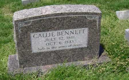 "BENNETT, CALIFORNIA ""CALLIE"" ANN LAMEW WYATT (PHOTO) - Lawrence County, Arkansas 