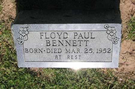 BENNETT, FLOYD PAUL - Lawrence County, Arkansas | FLOYD PAUL BENNETT - Arkansas Gravestone Photos