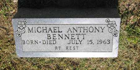 BENNETT, MICHAEL ANTHONY - Lawrence County, Arkansas | MICHAEL ANTHONY BENNETT - Arkansas Gravestone Photos