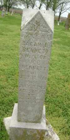 BENNETT, SARAH L. - Lawrence County, Arkansas | SARAH L. BENNETT - Arkansas Gravestone Photos