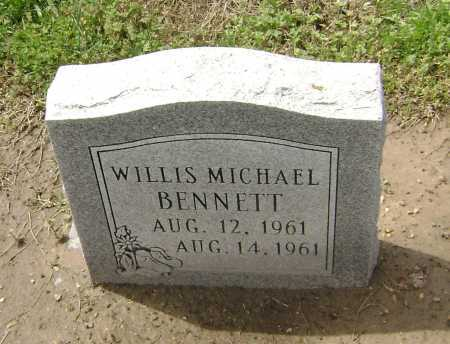 BENNETT, WILLIS MICHAEL - Lawrence County, Arkansas | WILLIS MICHAEL BENNETT - Arkansas Gravestone Photos