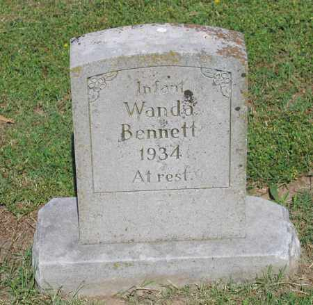 BENNETT, WANDA - Lawrence County, Arkansas | WANDA BENNETT - Arkansas Gravestone Photos