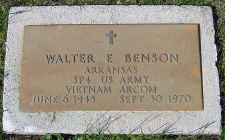 BENSON (VETERAN VIET), WALTER E - Lawrence County, Arkansas | WALTER E BENSON (VETERAN VIET) - Arkansas Gravestone Photos