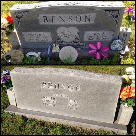 BENSON, WALTER L. - Lawrence County, Arkansas | WALTER L. BENSON - Arkansas Gravestone Photos