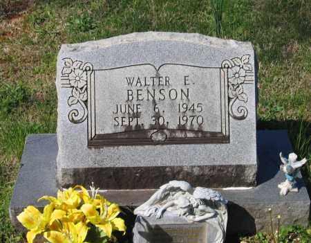 BENSON, WALTER EDWARD - Lawrence County, Arkansas   WALTER EDWARD BENSON - Arkansas Gravestone Photos