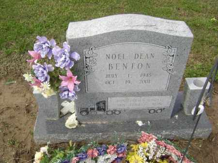 BENTON, NOEL DEAN - Lawrence County, Arkansas | NOEL DEAN BENTON - Arkansas Gravestone Photos