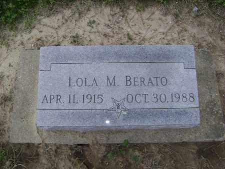 BERATO, LOLA M. - Lawrence County, Arkansas | LOLA M. BERATO - Arkansas Gravestone Photos