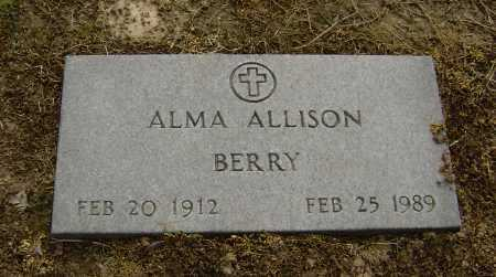 ALLISON, ALMA JUNE - Lawrence County, Arkansas | ALMA JUNE ALLISON - Arkansas Gravestone Photos