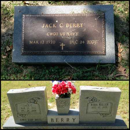 BERRY (VETERAN), JACK C. - Lawrence County, Arkansas | JACK C. BERRY (VETERAN) - Arkansas Gravestone Photos