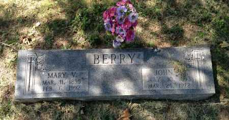 VINSON BERRY, MARY - Lawrence County, Arkansas | MARY VINSON BERRY - Arkansas Gravestone Photos