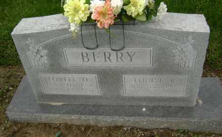 BERRY, LOWELL D. - Lawrence County, Arkansas | LOWELL D. BERRY - Arkansas Gravestone Photos