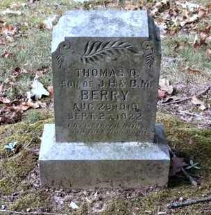 BERRY, THOMAS Q. - Lawrence County, Arkansas | THOMAS Q. BERRY - Arkansas Gravestone Photos