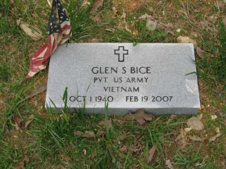 BICE (VETERAN VIET), GLEN S. - Lawrence County, Arkansas | GLEN S. BICE (VETERAN VIET) - Arkansas Gravestone Photos