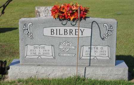 ALLS BILBREY, RUTH O. - Lawrence County, Arkansas | RUTH O. ALLS BILBREY - Arkansas Gravestone Photos