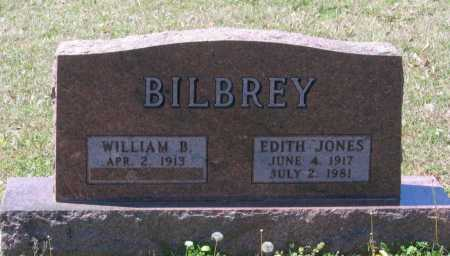 JONES BILBREY, EDITH - Lawrence County, Arkansas | EDITH JONES BILBREY - Arkansas Gravestone Photos