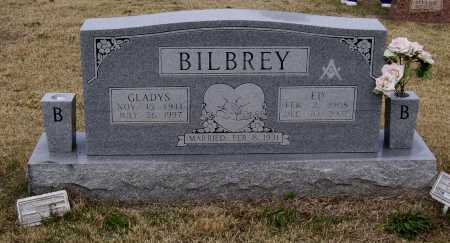 WILLIAMS BILBREY, GLADYS - Lawrence County, Arkansas | GLADYS WILLIAMS BILBREY - Arkansas Gravestone Photos
