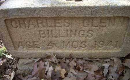 BILLINGS, CHARLES GLENN - Lawrence County, Arkansas | CHARLES GLENN BILLINGS - Arkansas Gravestone Photos