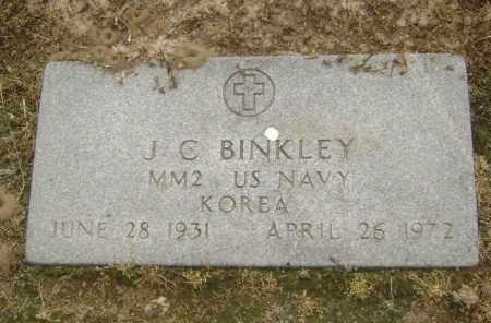 BINKLEY  (VETERAN KOR), J C - Lawrence County, Arkansas | J C BINKLEY  (VETERAN KOR) - Arkansas Gravestone Photos
