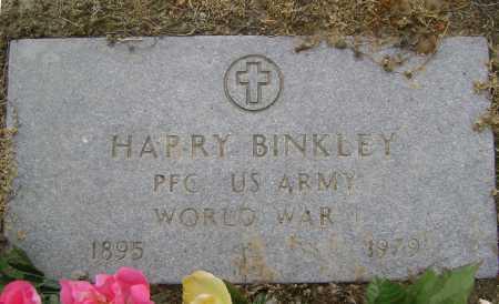 BINKLEY  (VETERAN WWI), HARRY - Lawrence County, Arkansas | HARRY BINKLEY  (VETERAN WWI) - Arkansas Gravestone Photos