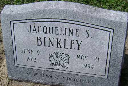 BINKLEY, JACQUELINE S. - Lawrence County, Arkansas | JACQUELINE S. BINKLEY - Arkansas Gravestone Photos