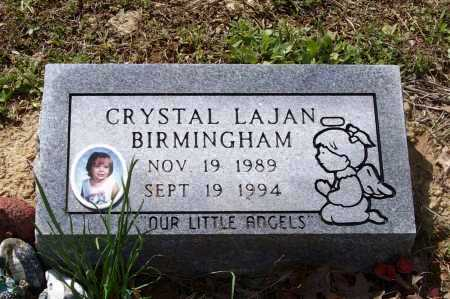 BIRMINGHAM, CRYSTAL LAJAN - Lawrence County, Arkansas | CRYSTAL LAJAN BIRMINGHAM - Arkansas Gravestone Photos