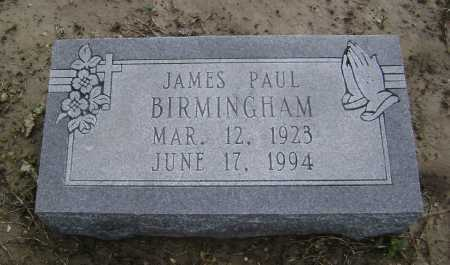 BIRMINGHAM, JAMES PAUL - Lawrence County, Arkansas | JAMES PAUL BIRMINGHAM - Arkansas Gravestone Photos
