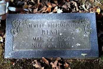 RICHMOND BISH, JEWELL - Lawrence County, Arkansas | JEWELL RICHMOND BISH - Arkansas Gravestone Photos