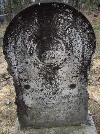 BLACK, BEULAH F. - Lawrence County, Arkansas | BEULAH F. BLACK - Arkansas Gravestone Photos