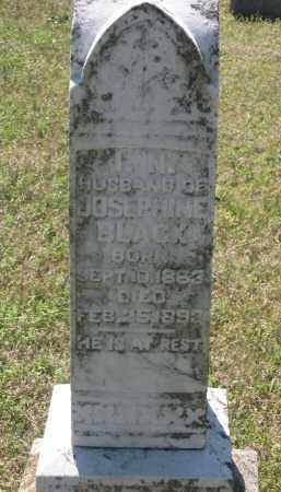 "BLACK, ISAAC N. ""I. N."" - Lawrence County, Arkansas 