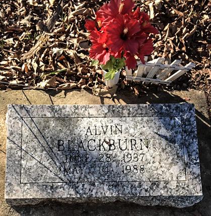 BLACKBURN, ALVIN - Lawrence County, Arkansas   ALVIN BLACKBURN - Arkansas Gravestone Photos