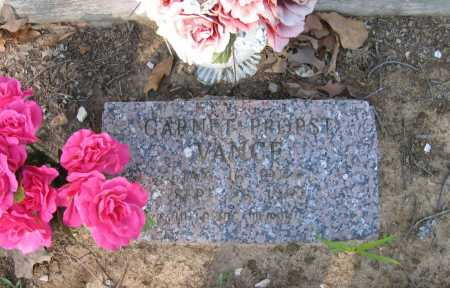 VANCE, GARNET - Lawrence County, Arkansas | GARNET VANCE - Arkansas Gravestone Photos