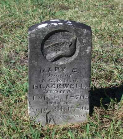 BLACKWELL, MARY ELIZABETH - Lawrence County, Arkansas | MARY ELIZABETH BLACKWELL - Arkansas Gravestone Photos