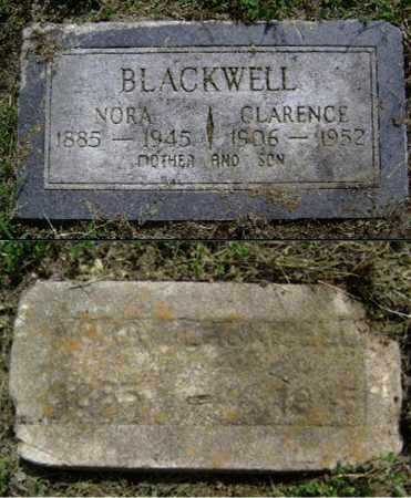 BURLESON BLACKWELL, NORA - Lawrence County, Arkansas | NORA BURLESON BLACKWELL - Arkansas Gravestone Photos