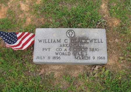 "BLACKWELL (VETERAN WWI), WILLIAM CALVIN ""DOC"" - Lawrence County, Arkansas 