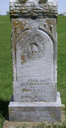 BLANKENSHIP, JOHN C. - Lawrence County, Arkansas | JOHN C. BLANKENSHIP - Arkansas Gravestone Photos
