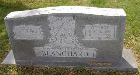 BLANCHARD, CLOE - Lawrence County, Arkansas | CLOE BLANCHARD - Arkansas Gravestone Photos