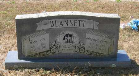 COLLINS BLANSETT, MARY ANN - Lawrence County, Arkansas | MARY ANN COLLINS BLANSETT - Arkansas Gravestone Photos