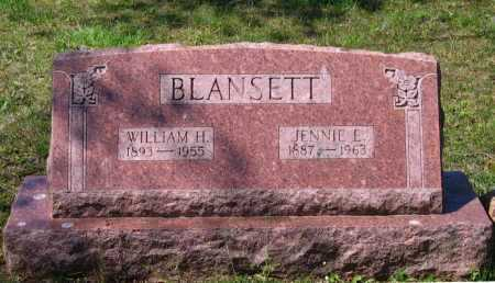 BLANSETT, WILLIAM HUBERT - Lawrence County, Arkansas | WILLIAM HUBERT BLANSETT - Arkansas Gravestone Photos